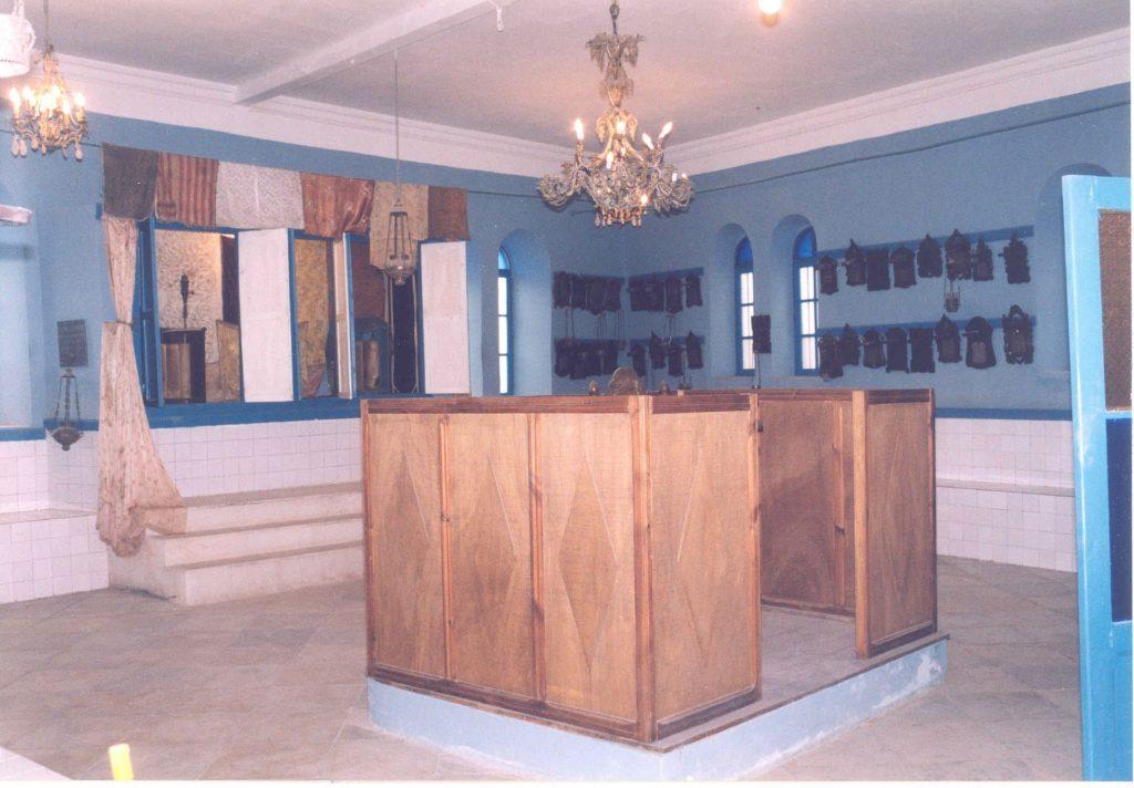 Intérieur de la Ghriba du Kef