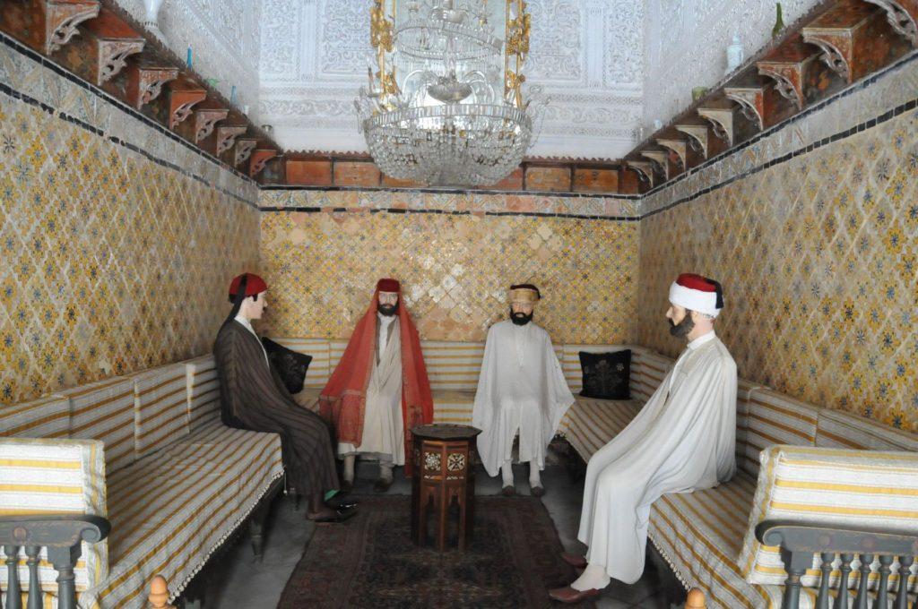 Intérieur masculin tunisois (Dar Ben Abdallah)