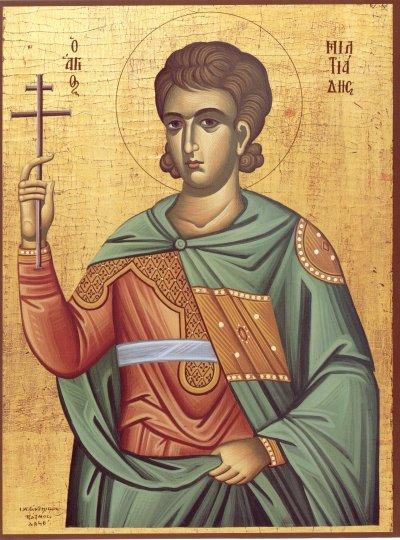 Saint Miltiade ou Melchiade, (en grec : Μελχιάδης ὁ Ἀφρικανός ; Melchiade l'Africain) né en Afrique, et d'origine berbère, est le 32e pape de l'Église catholique. Il est évêque de Rome du 2 juillet 311 à sa mort le 10 janvier 314 (ou le 11 janvier)