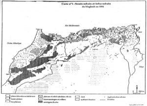 Répartition spatiale des berbères