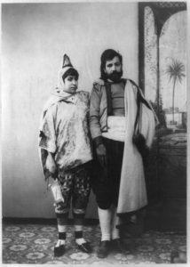 Un couple de Juifs tunisiens au début du xxe siècle